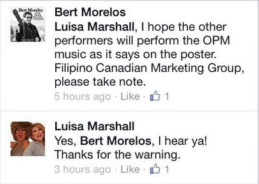 A closer look at Luisa's response to Bert.